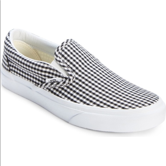 Vans Shoes - Vans Gingham Slip-On Sneaker a5a3c47e1